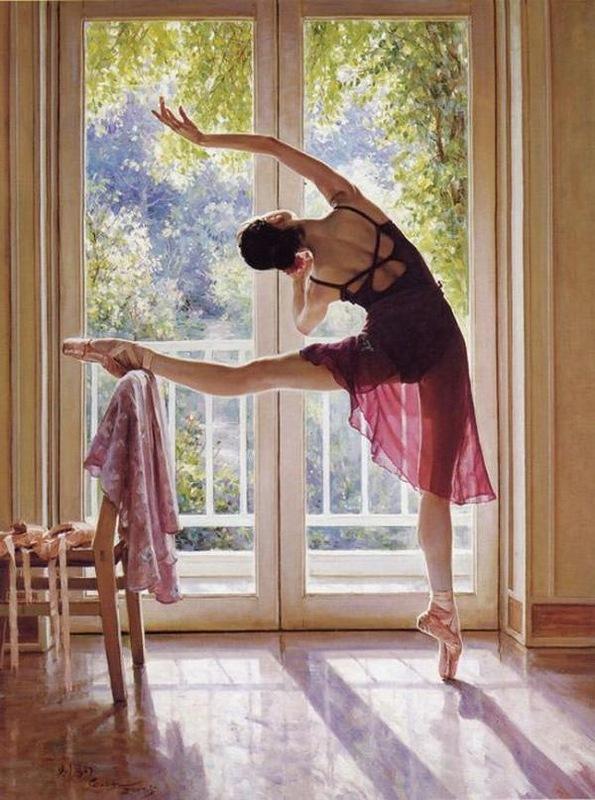 особая картинки утро балерины живописное место