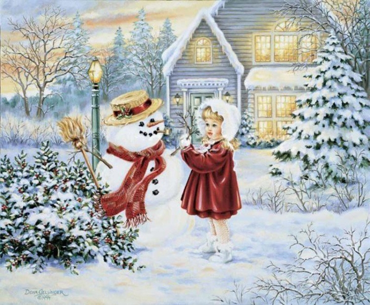 Зимние детские открытки, приколы кинофильмов