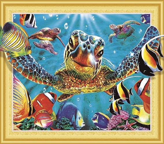 Алмазная мозаика, 40х50, круглые стразы QA 200561 Сова - купить ...   497x567