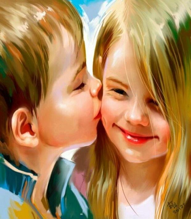 В можно ли щечку незнакомых целовать