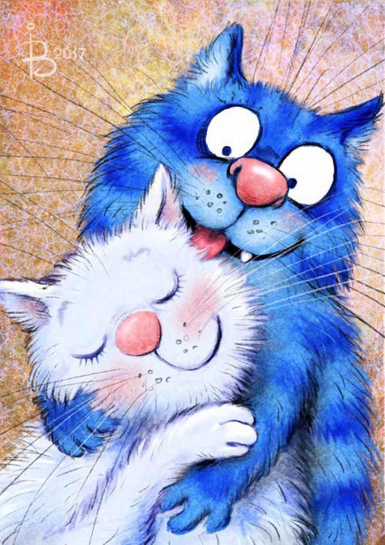 серый составляют открытки с котиками любимому калибровка подходит