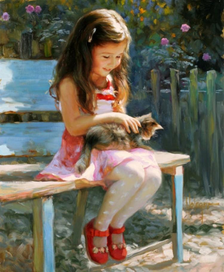 Рисовать картины для девочек