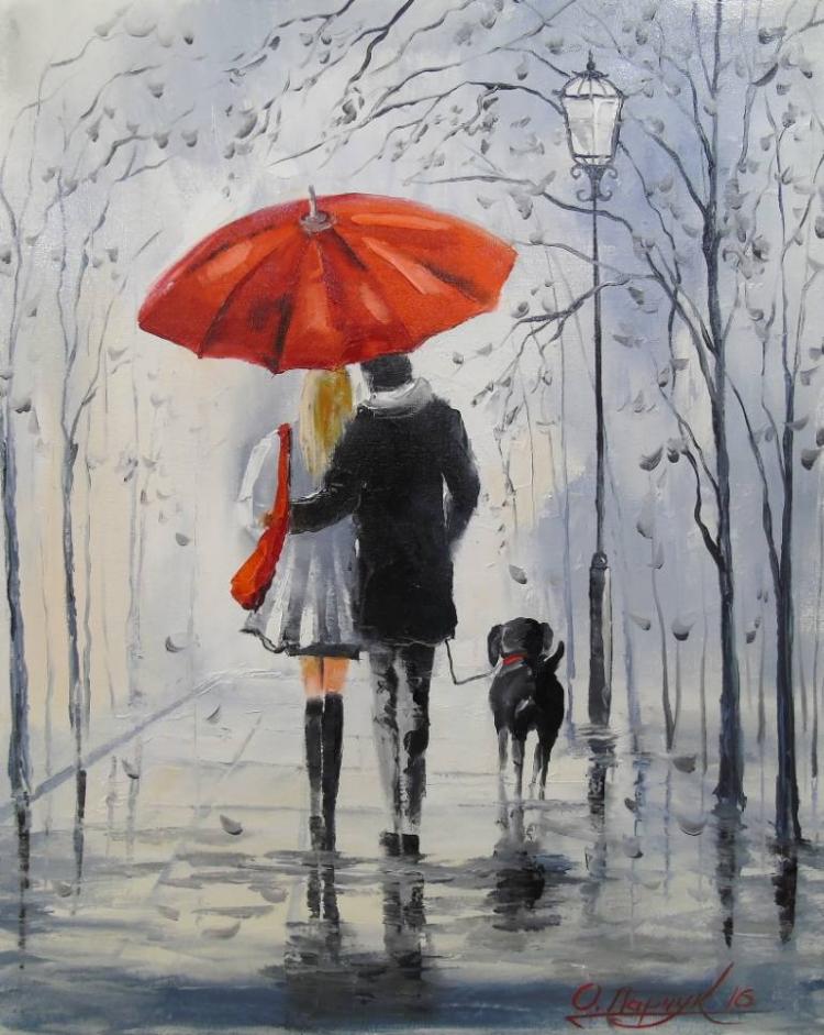 рисунки двое под зонтом надежды ваши